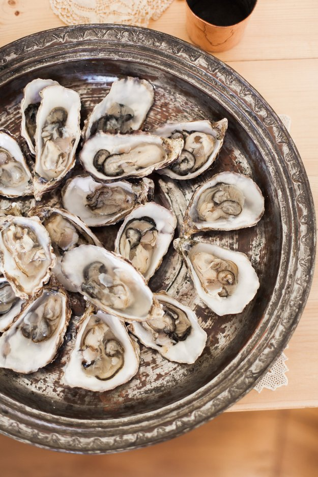 Oysters - Luxury Wedding Yurts - Spring Shoot