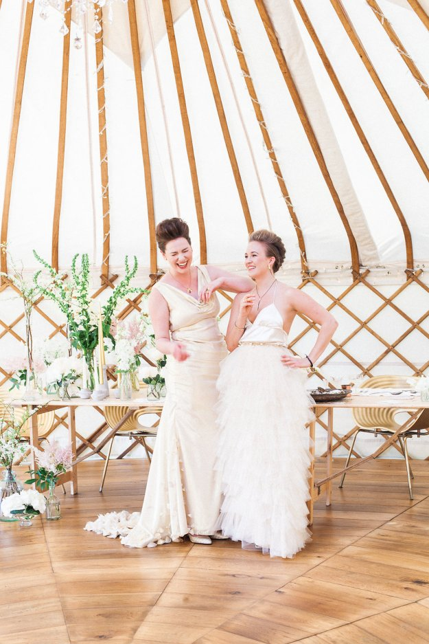 Luxury Wedding Yurts - Styling - Lizzie Jones - Wedding Yurts - Spring - Xander-and-Thea-Fine-Art-Wedding-Photography - Jessica Charleston Couture Wedding Dresses - Wedding Flowers - Christiane Simmons