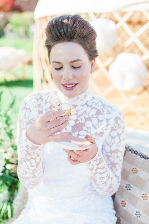 Styling - Lizzie Jones - Wedding Yurts - Spring Shoot  - Outdoor Wedding - Luxury Wedding Yurts - Yurt Hire - Xander-and-Thea-Fine-Art-Wedding-Photography - Jessica Charleston Couture Wedding Dresses - Wedding Flowers - Christiane Simmons