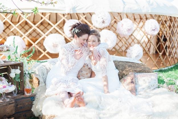 Styling - Lizzie Jones - Wedding Yurts - Spring - Xander-and-Thea-Fine-Art-Wedding-Photography - Jessica Charleston Couture Wedding Dresses - Wedding Flowers - Christiane Simmons
