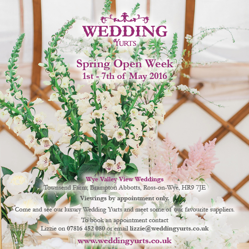 Open week wedding